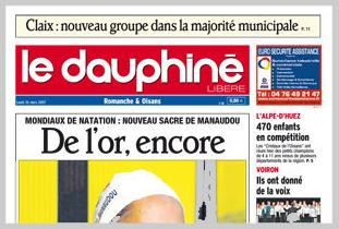 """La Une """"historique"""" du DL du lundi 26 mars 2007 - Cliquez pour l'agrandir"""
