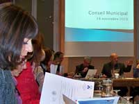 Conseil municipal de Claix du 18 novembre 2010