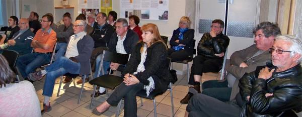Le public au conseil municipal de Claix du 23 mai 2013