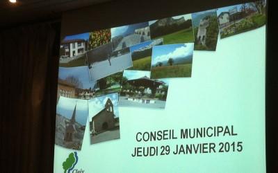 Conseil municipal de Claix du 29 janvier 2015 : des orientations budgétaires obscures