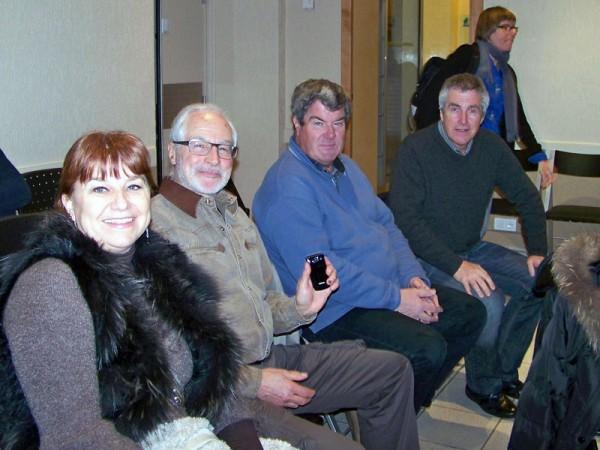 Des membres de Claix Naturellement assistent au conseil municipal de Claix