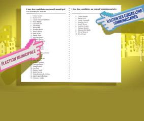Election des conseillers communautaires les 23 et 30 mars