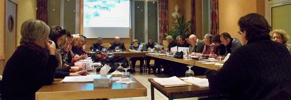 Conseil municipal de Claix janvier 2012