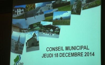 Conseil municipal du 18 décembre 2014 – La Métro délègue