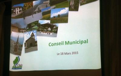 Conseil municipal de Claix du 18 mars 2015 : faites ce que je dis, pas ce que je fais