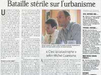 Conseil municipal de Claix du 10 juin 2010 : un PLU primé des Claixois déprimés