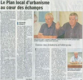 Conseil municipal Claix