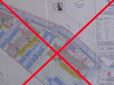 La croix blanche les 2 permis de construire retir s for Papier pour permis de construire