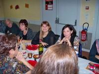 Les participants à la soirée beaujolais de Claix Naturellement
