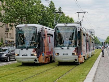 Grenoble tram E