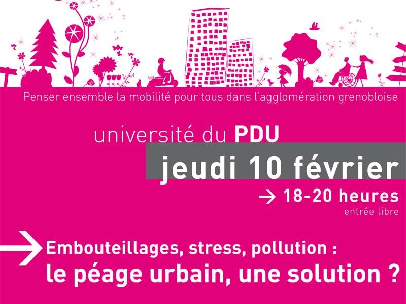 Péage urbain à Grenoble, pour ou contre ?