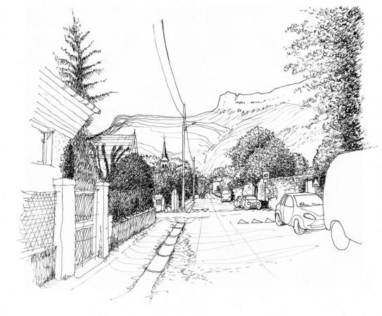 Claix - avenue Bougault avant